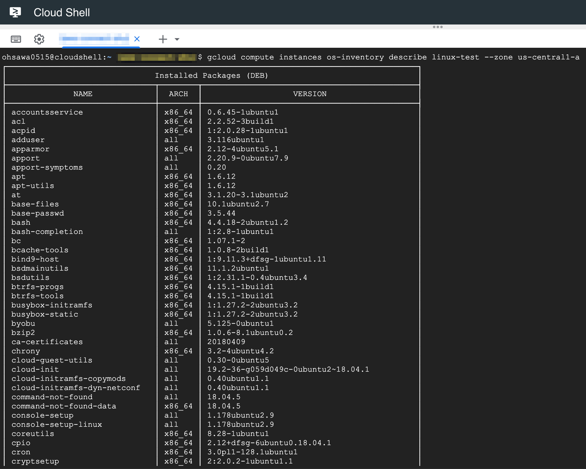 os-inventory-linux