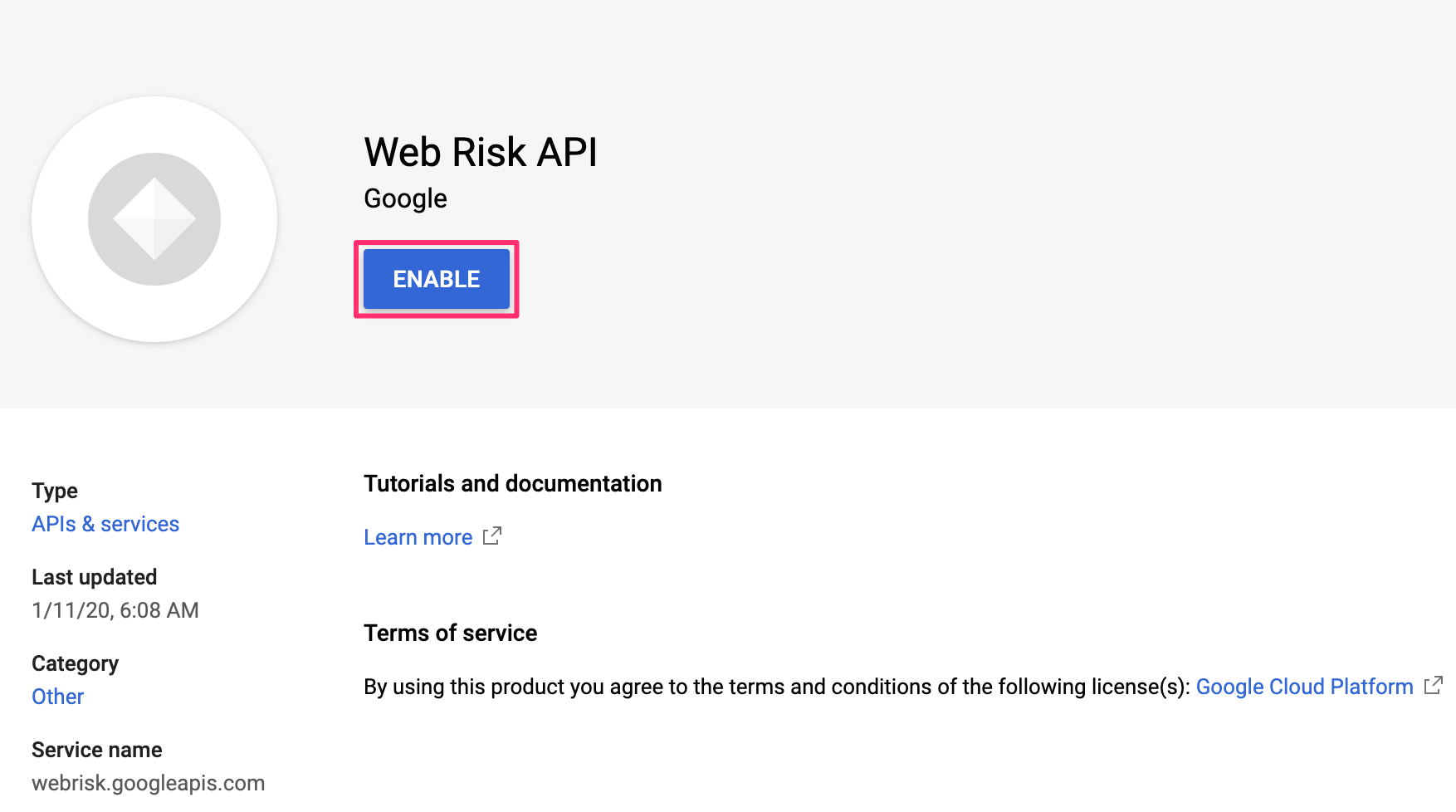 web-risk-api
